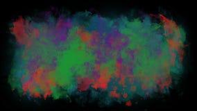 El movimiento de las pinturas de la acuarela ilustración del vector