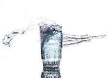 El movimiento del agua Foto de archivo libre de regalías