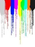 El movimiento del pigmento Fotografía de archivo