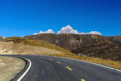 El Mt lejano Zuodala Imagen de archivo