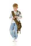 El muchacho Imagen de archivo