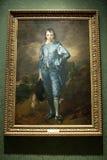 El muchacho azul Imagen de archivo