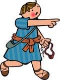 El muchacho David stock de ilustración