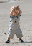 El muchacho en el parque 2 fotos de archivo libres de regalías