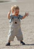 El muchacho en el parque 3 fotografía de archivo