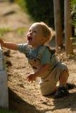 El muchacho en el parque 4 foto de archivo libre de regalías