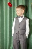 El muchacho en quien todo es bueno Foto de archivo libre de regalías