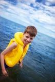 El muchacho en vida-concede Fotografía de archivo