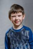 El muchacho es fresco e ironist Fotografía de archivo libre de regalías