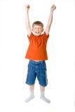 El muchacho está contento Fotos de archivo