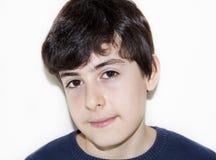El muchacho está sonriendo Imagen de archivo libre de regalías