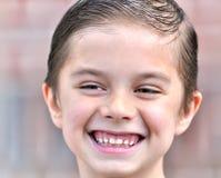 El muchacho feliz Imagen de archivo libre de regalías