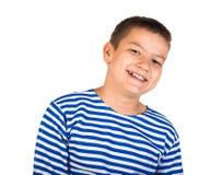 El muchacho hermoso que el adolescente aisló Foto de archivo libre de regalías
