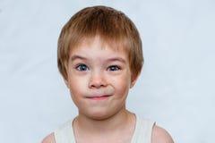 el muchacho no creyó Fotografía de archivo libre de regalías