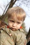 El muchacho triste Fotografía de archivo libre de regalías
