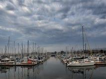 El muelle del pescador de Monterey, California Imagenes de archivo
