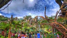 El mundo de Avatar en el reino animal del ` s de Disney Foto de archivo