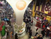 El mundo de M&M en Nueva York Fotos de archivo libres de regalías