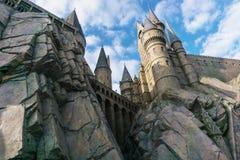 El mundo de Wizarding de Harry Potter en el estudio universal, Osaka Fotos de archivo libres de regalías