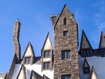 El mundo de Wizarding de Harry Potter en la O.N.U de Japón del estudio universal Imágenes de archivo libres de regalías