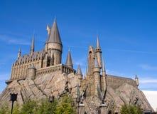 El mundo de Wizarding de Harry Potter en la O.N.U de Japón del estudio universal Foto de archivo