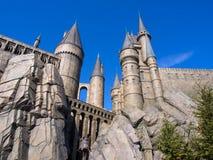 El mundo de Wizarding de Harry Potter en la O.N.U de Japón del estudio universal Imagen de archivo libre de regalías