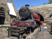 El mundo de Wizarding de Harry Potter en el estudio universal, Osaka Magia, hogwarts fotos de archivo