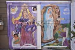 El mundo del ` s de San Francisco reconoció los murales balsámicos del callejón, 7 Fotografía de archivo libre de regalías