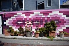 El mundo del ` s de San Francisco reconoció los murales balsámicos del callejón, 12 Fotografía de archivo libre de regalías