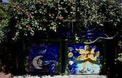 El mundo del ` s de San Francisco reconoció los murales balsámicos del callejón, 20 Fotografía de archivo