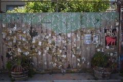 El mundo del ` s de San Francisco reconoció los murales balsámicos del callejón, 30 Fotografía de archivo libre de regalías