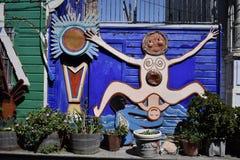 El mundo del ` s de San Francisco reconoció los murales balsámicos del callejón, 42 Foto de archivo