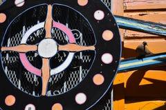 El mundo del ` s de San Francisco reconoció los murales balsámicos del callejón, 46 Imagenes de archivo