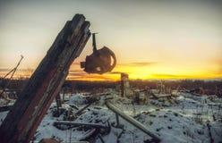El mundo posts-apocalíptico Fotografía de archivo libre de regalías