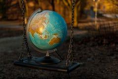 El mundo puede balancear Fotografía de archivo libre de regalías