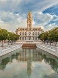 El municipio de Oporto Fotografía de archivo libre de regalías