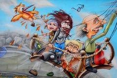 El muro de Berlín Fotografía de archivo libre de regalías