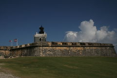 El Murro. Fortress in Puerto Rico Royalty Free Stock Photo