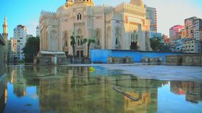 EL Mursi Abu El Abbas Mosque banque de vidéos