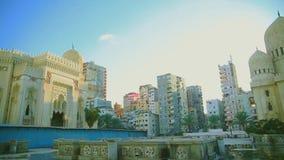 El Mursi Abu El Abbass meczet, Aleksandria, Egipt zbiory