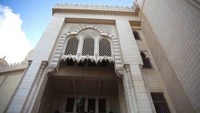 El Mursi Abu El Abbass Mosque, Alexandria, Egypten arkivfilmer