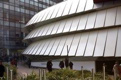 El Musée du quai Branly en París Fotos de archivo