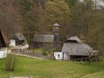 El museo al aire libre austríaco Stuebing cerca de Graz fotografía de archivo libre de regalías
