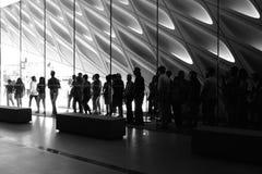 El museo amplio desde adentro Foto de archivo libre de regalías