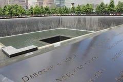 El museo 9/11 conmemorativo Imagen de archivo libre de regalías