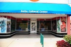 El museo cultural del delta, Helena Arkansas Imagen de archivo libre de regalías