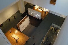 El museo de Art October moderno 2015 1 Foto de archivo libre de regalías