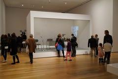 El museo de Art October moderno 2015 9 Fotos de archivo libres de regalías