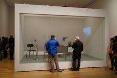 El museo de Art October moderno 2015 11 Imagen de archivo libre de regalías