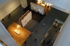 El museo de Art October moderno 2015 48 Foto de archivo